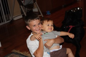 Noah and Brody