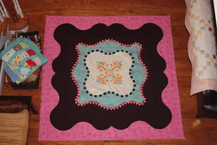 Hula Hibiscus Unquilted