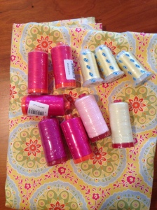Quilting Supplies: Thread and Backing